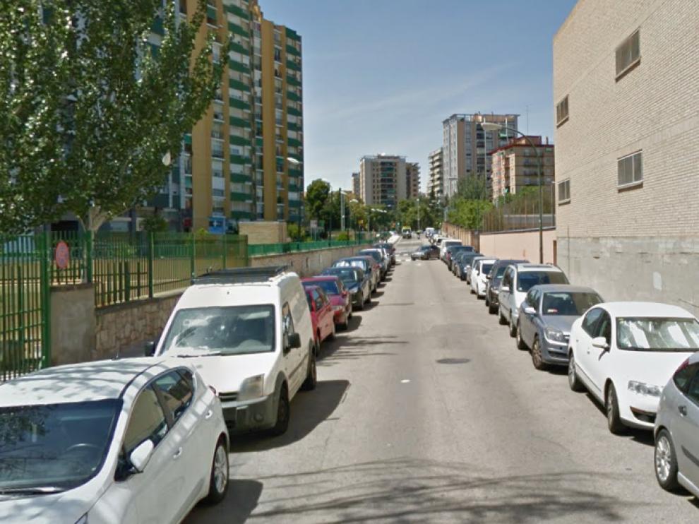 El accidente ha ocurrido en la calle Vázquez de Mella