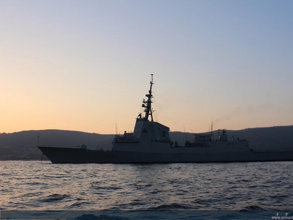 Fragata 'Méndez Núñez'