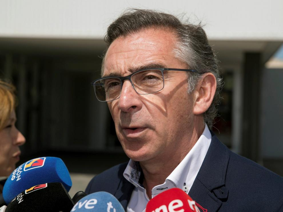 El candidato del PP a la presidencia de Aragón, Luis María Beamonte.