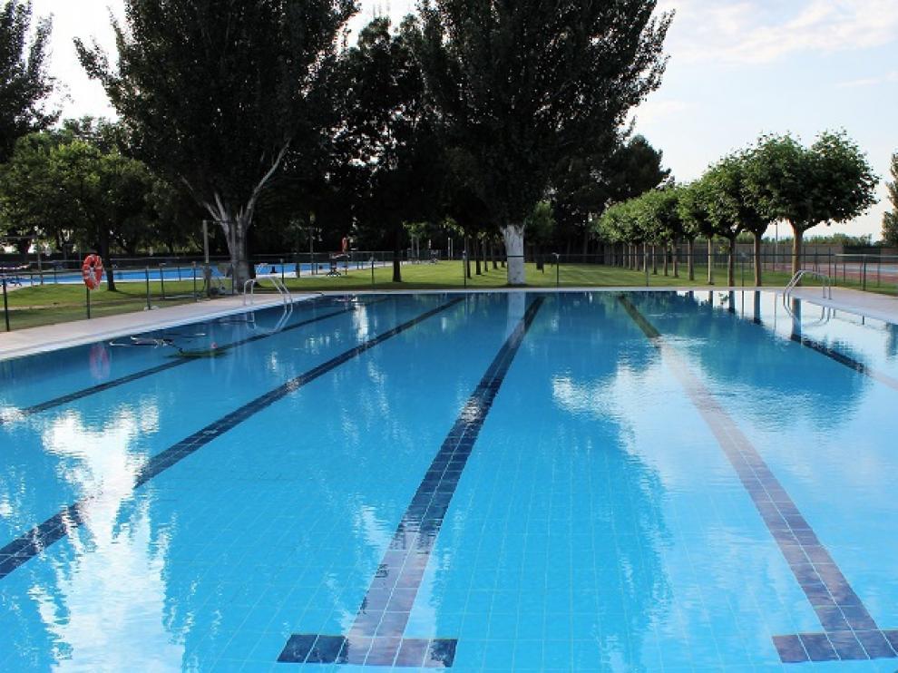 El complejo deportivo de Pedrola alberga las piscinas de verano.