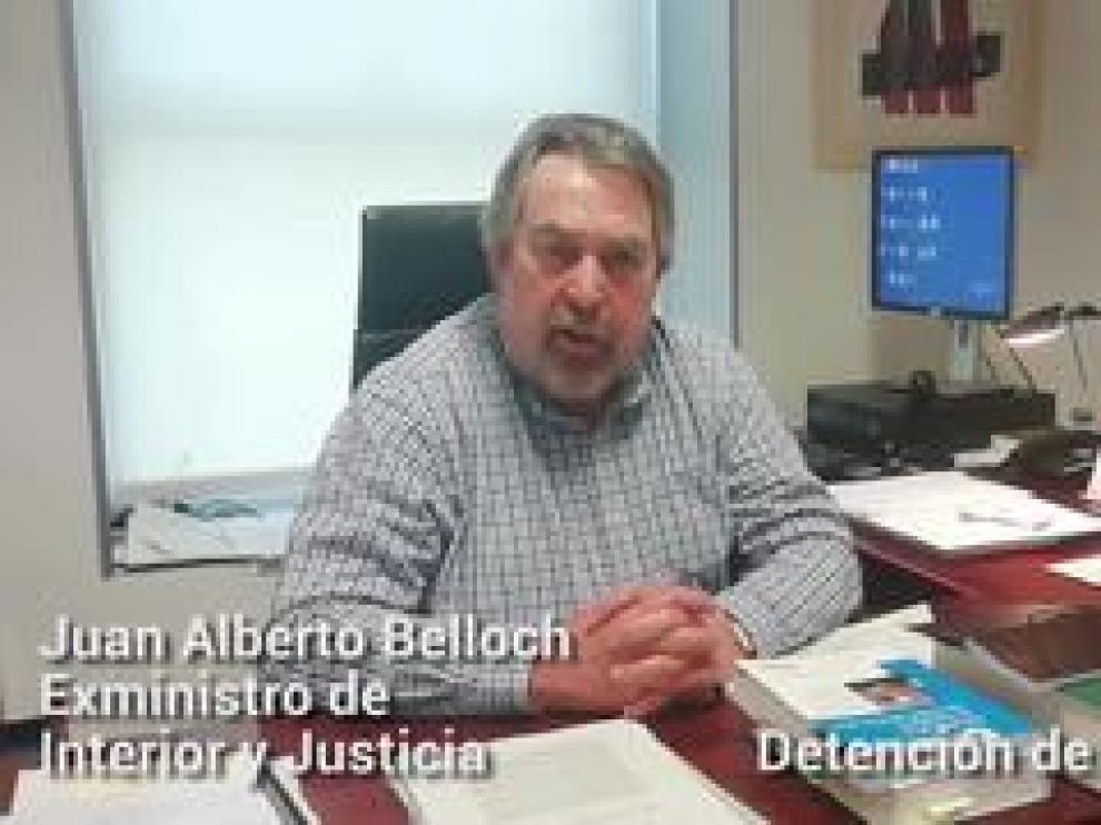 Juan Alberto Belloch, exministro de Interior y Justicia, habla sobre la detención de Josu Ternera y su vinculación con ETA.