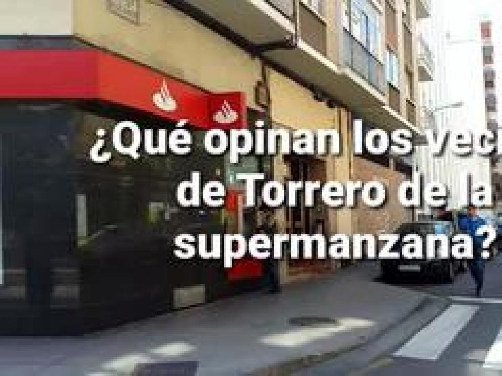 Torrero ha sido el barrio elegido para configurar la primera supermanzana de Zaragoza. Puede dar su opinión aquí sobre esta forma de reorganizar la movilidad urbana.