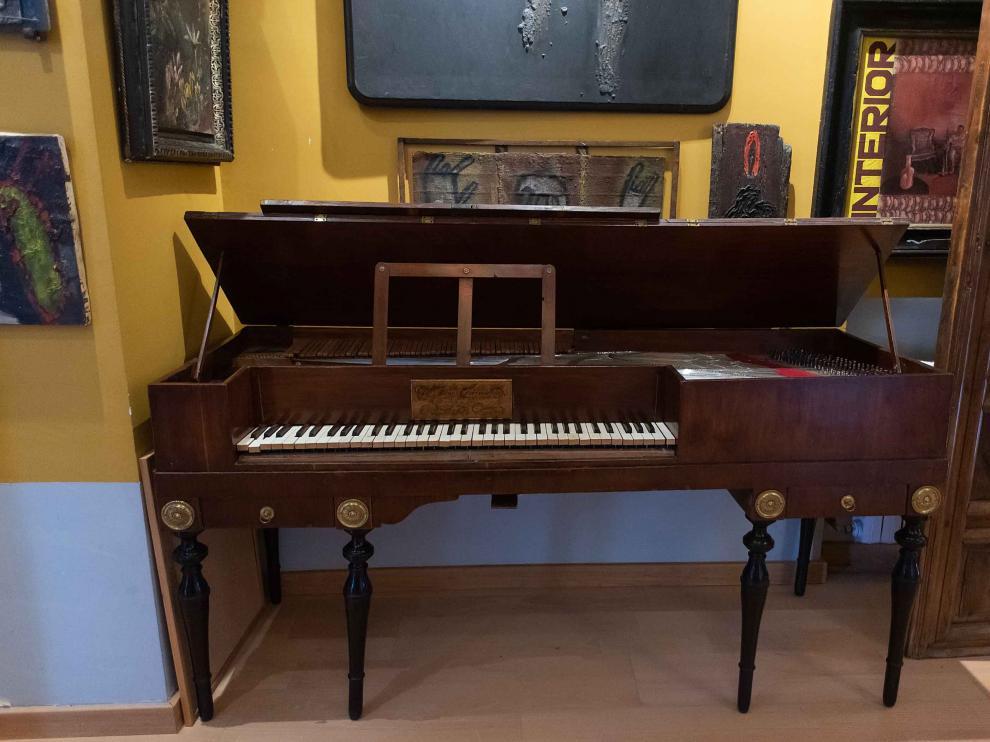 El pianoforte, que se restauró en el año 2000, no ha sido tocado en público