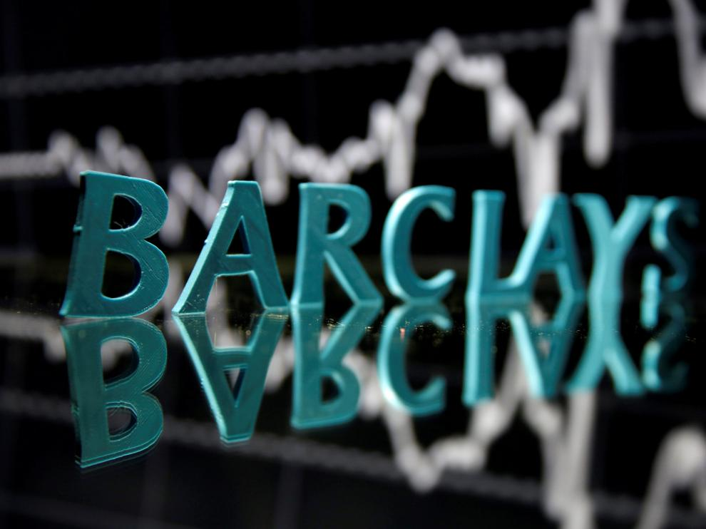 FILE PHOTO: The Barclays logo is seen in front of displayed stock graph in this illustration taken June 21, 2017. REUTERS/Dado Ruvic/File Photo [[[REUTERS VOCENTO]]] EU-ANTITRUST/BANKS