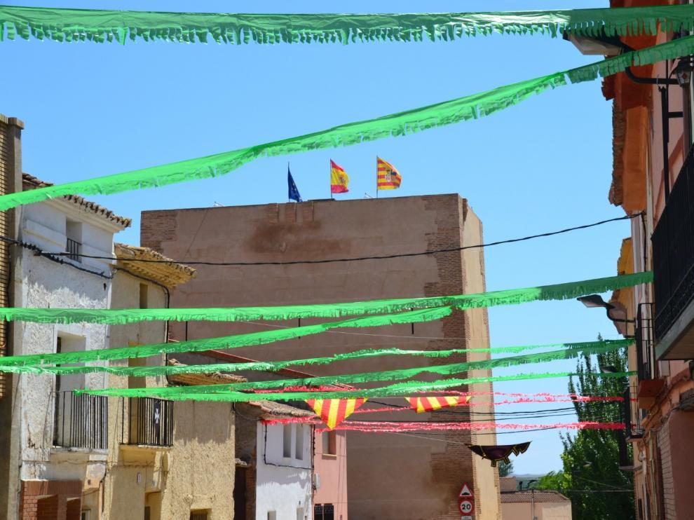 El municipio ha ambientado sus calles para la jornada medieval.