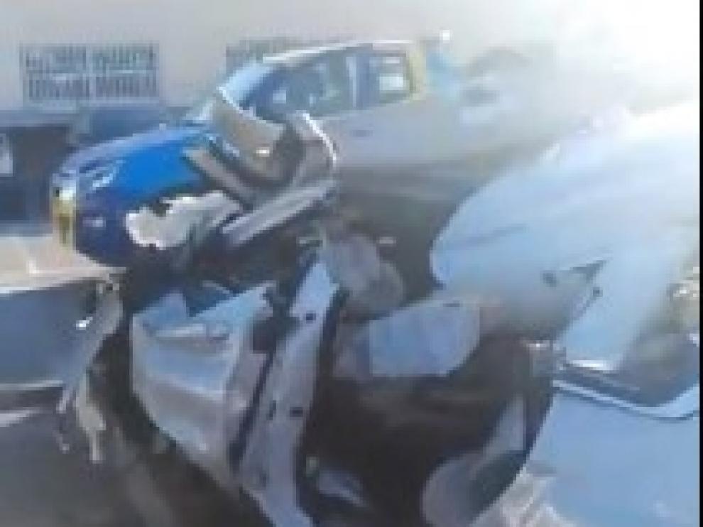Muere tras el accidente que sufrió cuando conducía a 189 kilómetros por hora en Valencia.