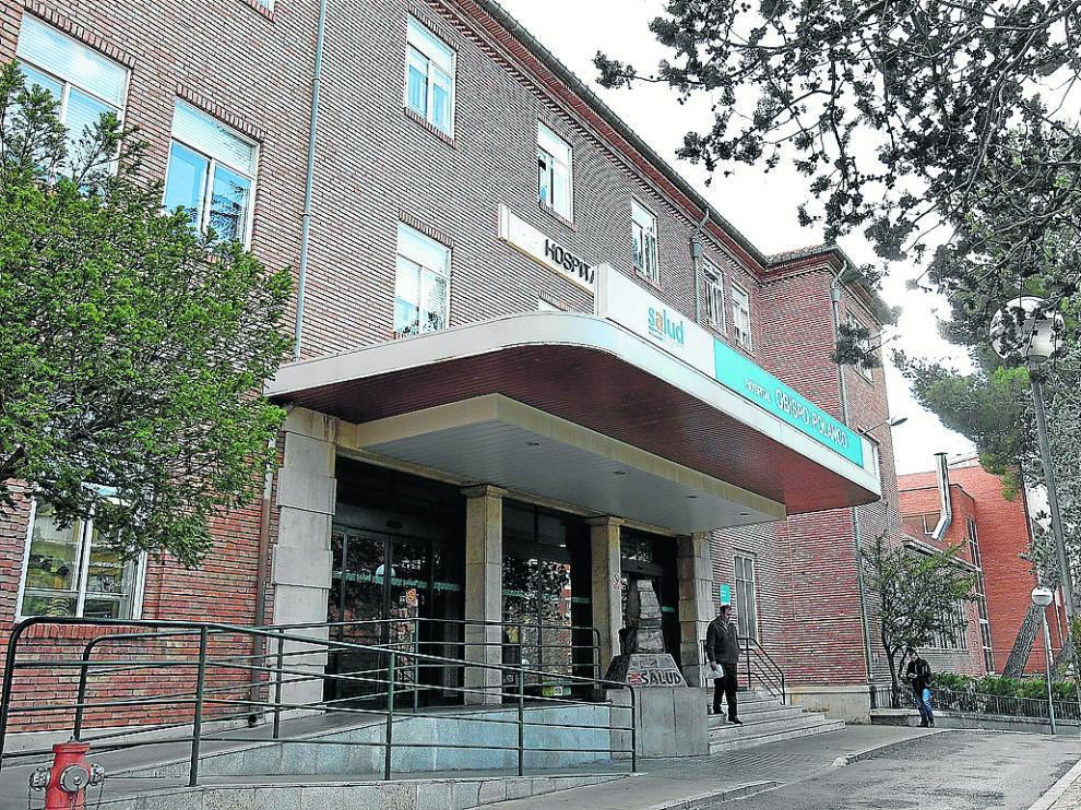 El hospital Obispo Polanco, en la foto, cuenta con una plantilla de 12 anestesistas.