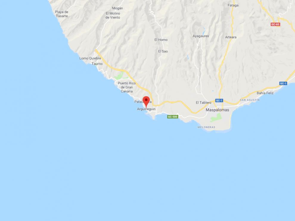 El suceso ha tenido lugar en la costa de Arguineguín, al sur de la isla.