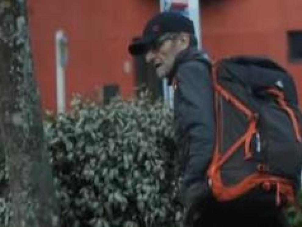 El etarra fugado llevaba viviendo al menos seis meses en un refugio en Los Alpes donde aseguraba que se dedicaba a la escritura y se desplazaba a pie.