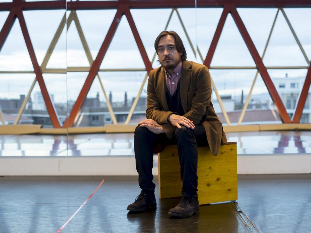 Nacho Escuín, director general de Cultura de la DGA.