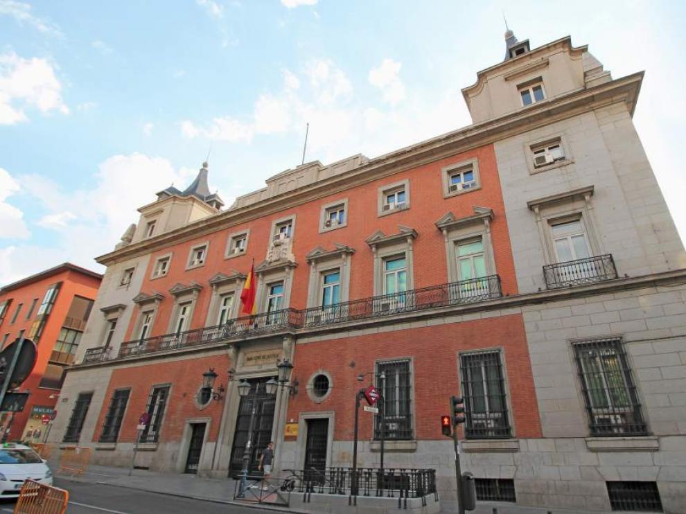 Sede del Ministerio de Justicia en Madrid.
