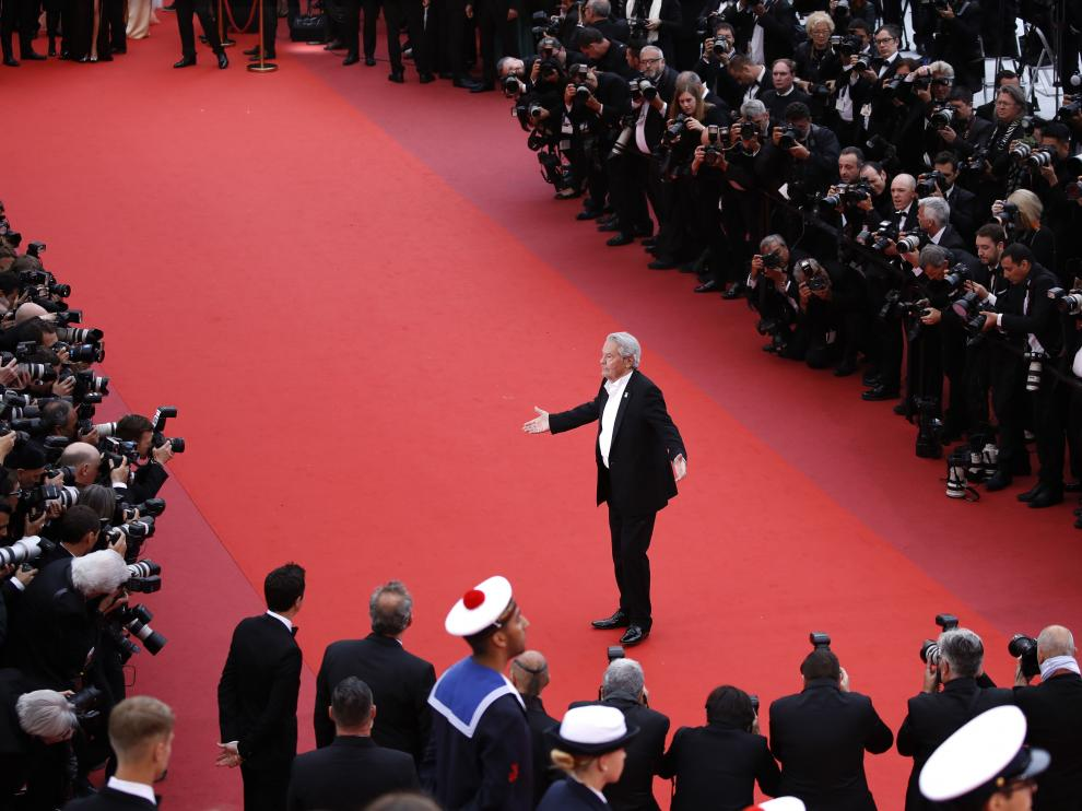 Alain Delon en Cannes