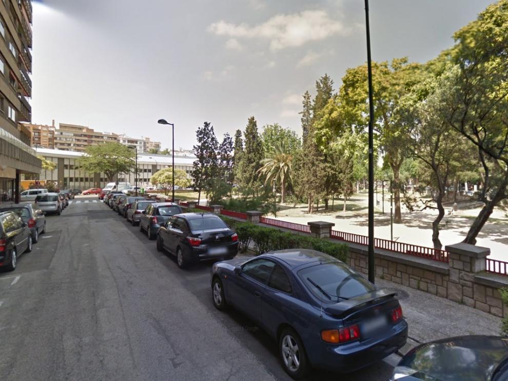 Calle de El Aaiún, en Zaragoza.