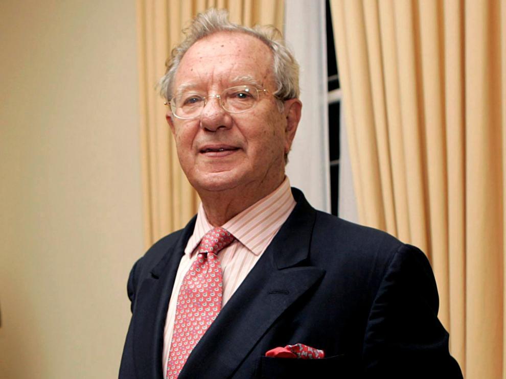 Imagen de archivo de Raúl Modoro en la embajada española en Caracas en 2007.