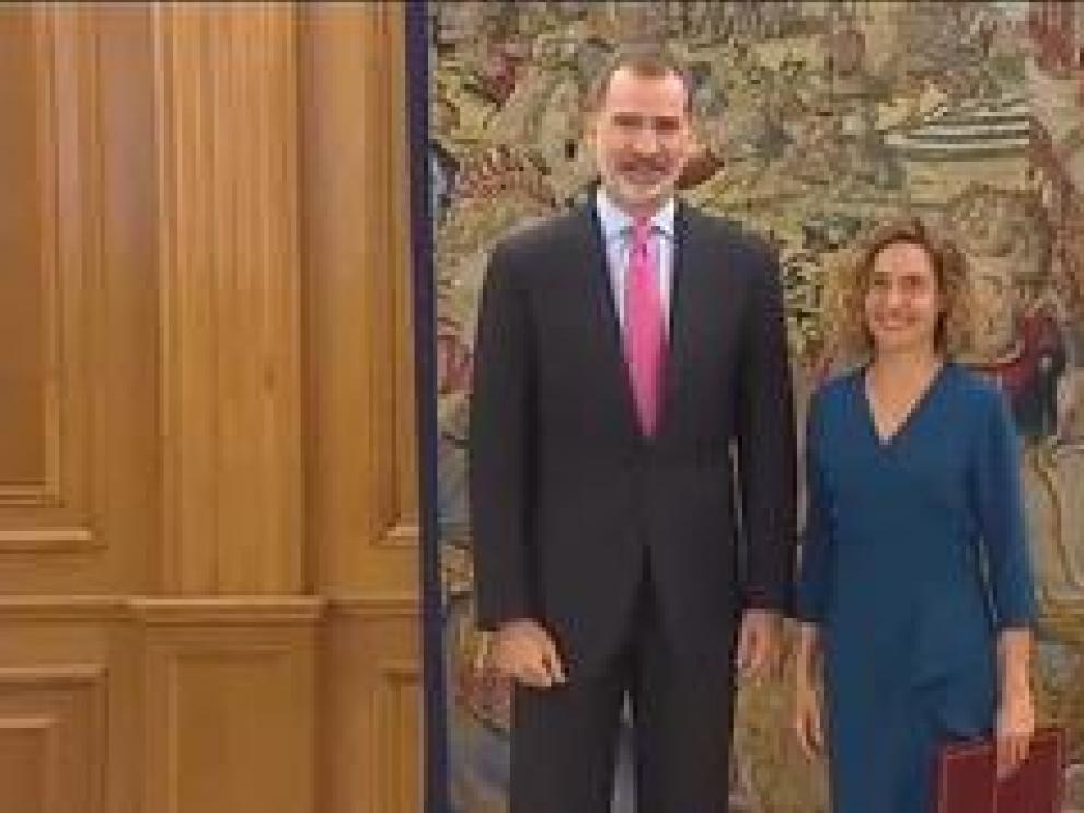 El rey ha recibido esta mañana en el Palacio de La Zarzuela a la presidenta del Congreso y al presidente del Senado. A las 11:00 ha despachado con Meritxell Batet y una hora más tarde ha hecho lo propio con Manuel Cruz.