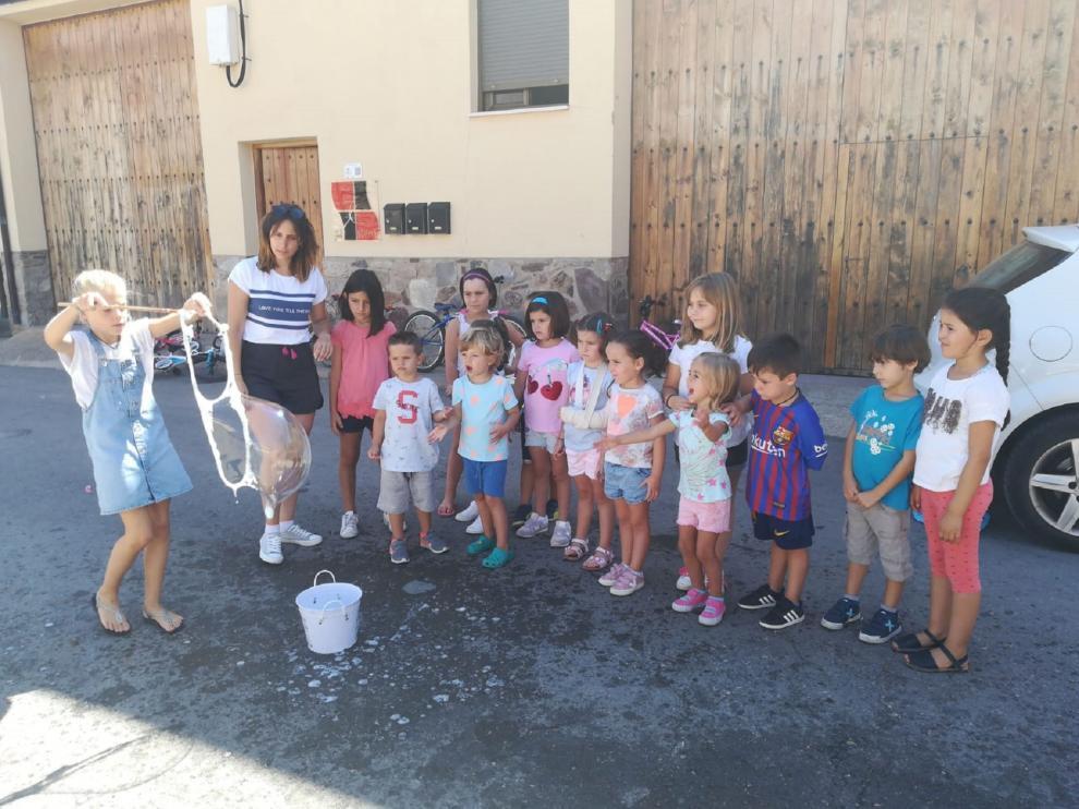 El año pasado, 325 niños y niñas participaron en las colonias rurales.