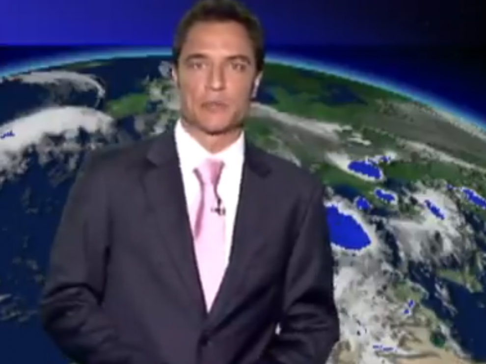 El meteorólogo Carlos Cabrera.