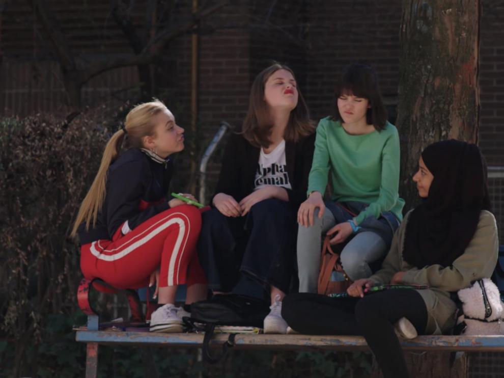 Fotograma de la serie 'Skam España'.