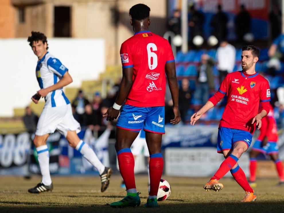 Partido entre el Teruel y el Hércules de la temporada 2018-2019.
