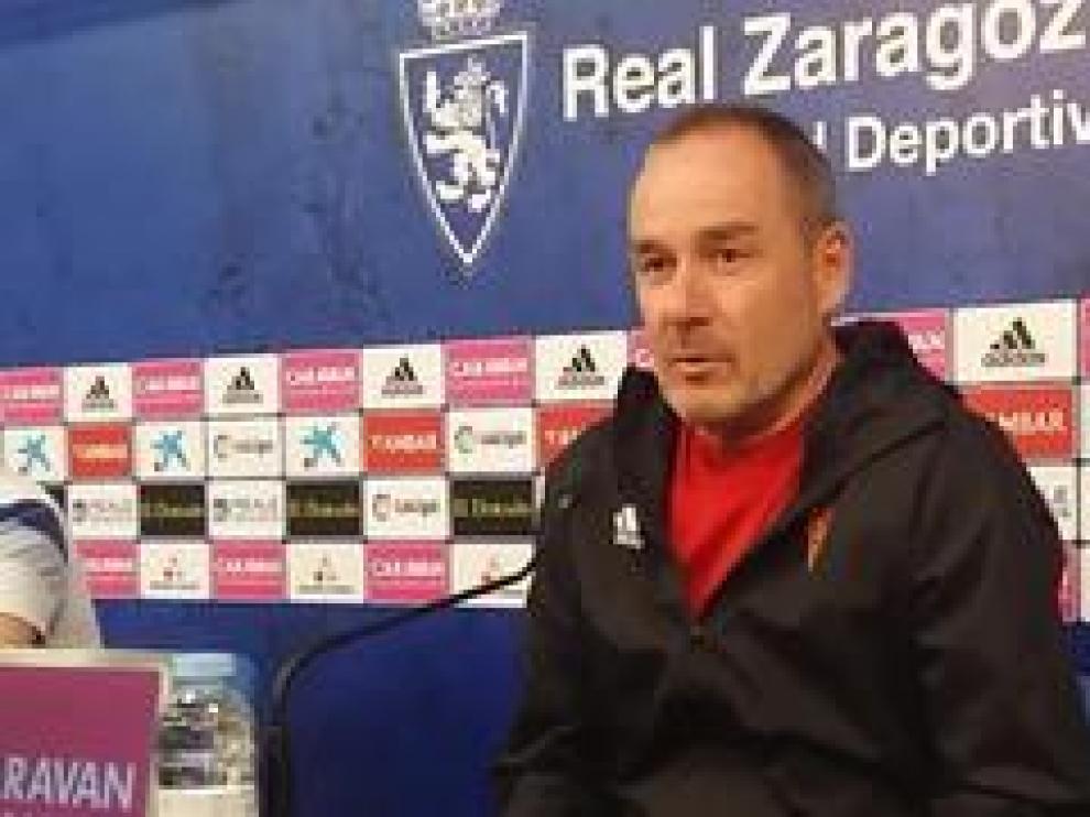 El entrenador del Real Zaragoza, Víctor Fernández, ha hablado este jueves sobre su futuro en el club y sobre el final de la temporada.