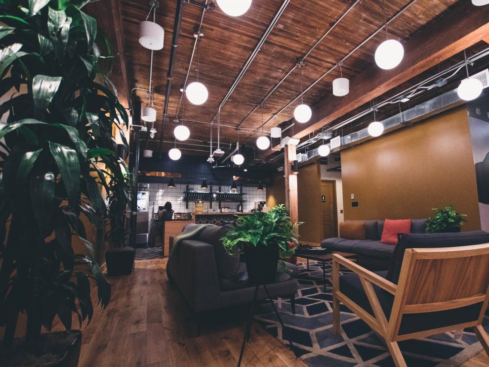 Estas zonas buscan trasmitir tranquilidad para que sus trabajadores se olviden durante unos minutos del estrés laboral.