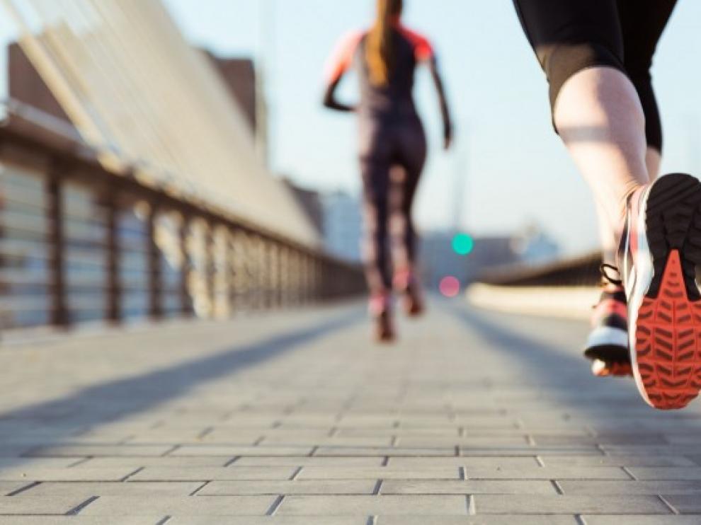 El running es el deporte elegido por el 40 por ciento de los aragoneses.