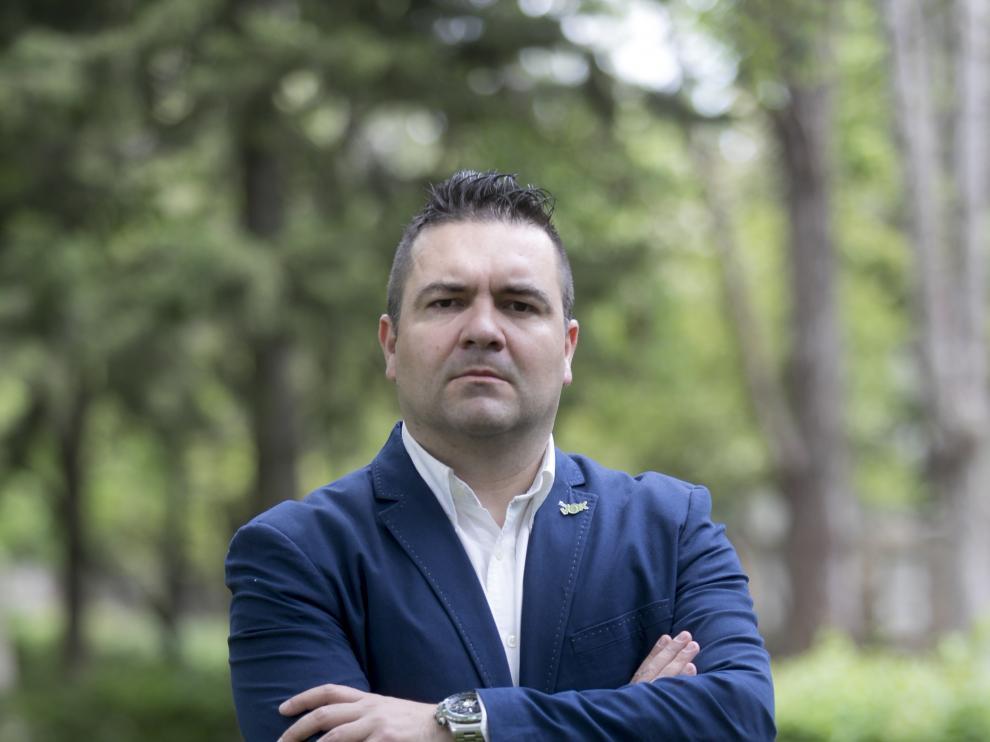 Candidato de Vox al Ayuntamiento de Huesca - Antonio Laborda / 8-5-19 / Foto Rafael Gobantes [[[FOTOGRAFOS]]]
