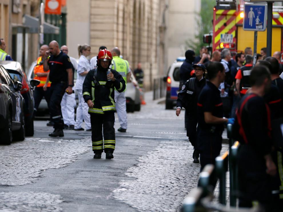 Explosión en el centro de Lyon por un paquete bomba.