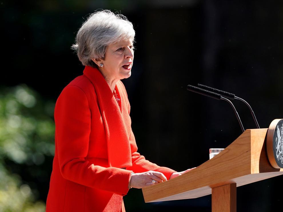 Theresa May tiene nueve principales sucesores.