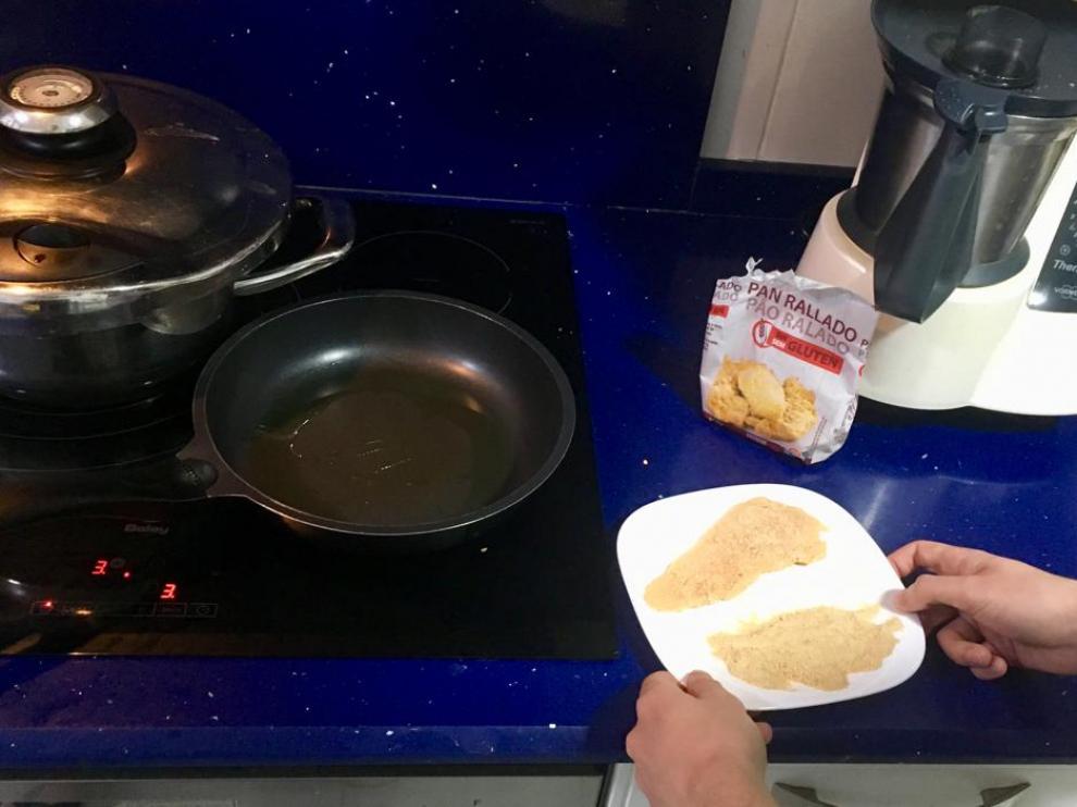 Los utensilios que se usan para cocinar deben estar bien lavados si en ellos se han cocinado antes productos con gluten.