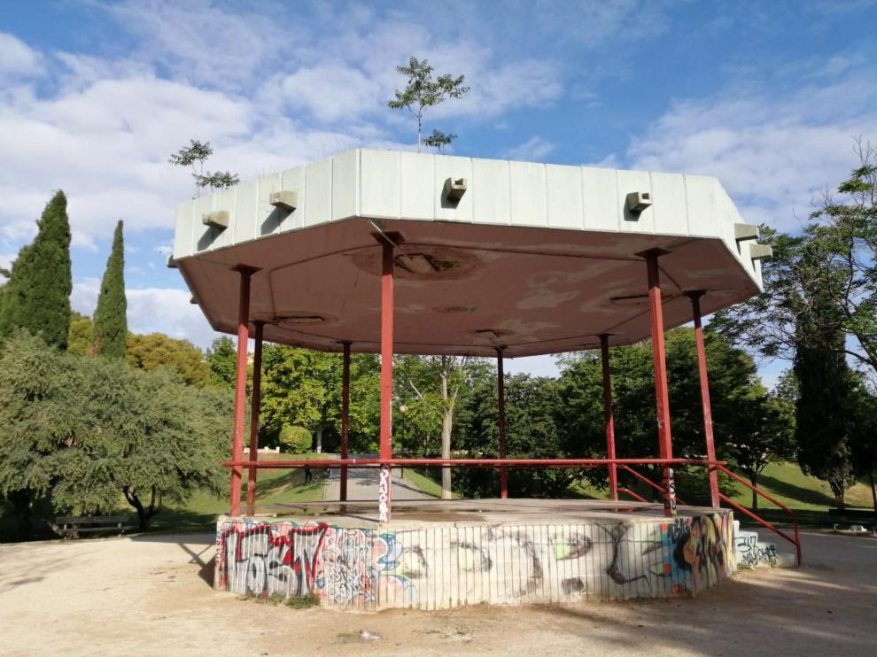 """El quiosco del Parque de Torre Ramona, """"un peligro"""""""