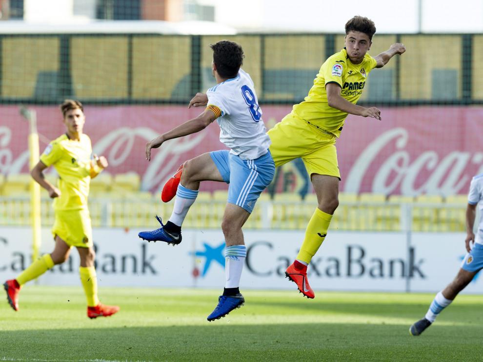 Imagen del partido de ida entre el Villarreal y el Zaragoza de Copa del Rey
