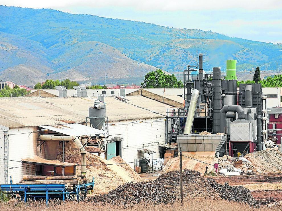 La planta de Calatayud en la que Industrias Monzón centralizó su producción en diciembre.