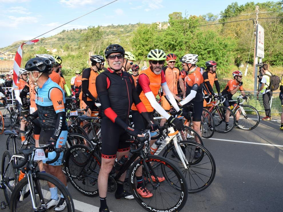 Fiesta del cicloturismo en los Puertos de la Ribagorza