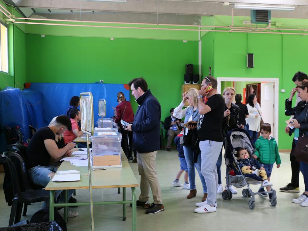 Colegio electoral Zalfonada