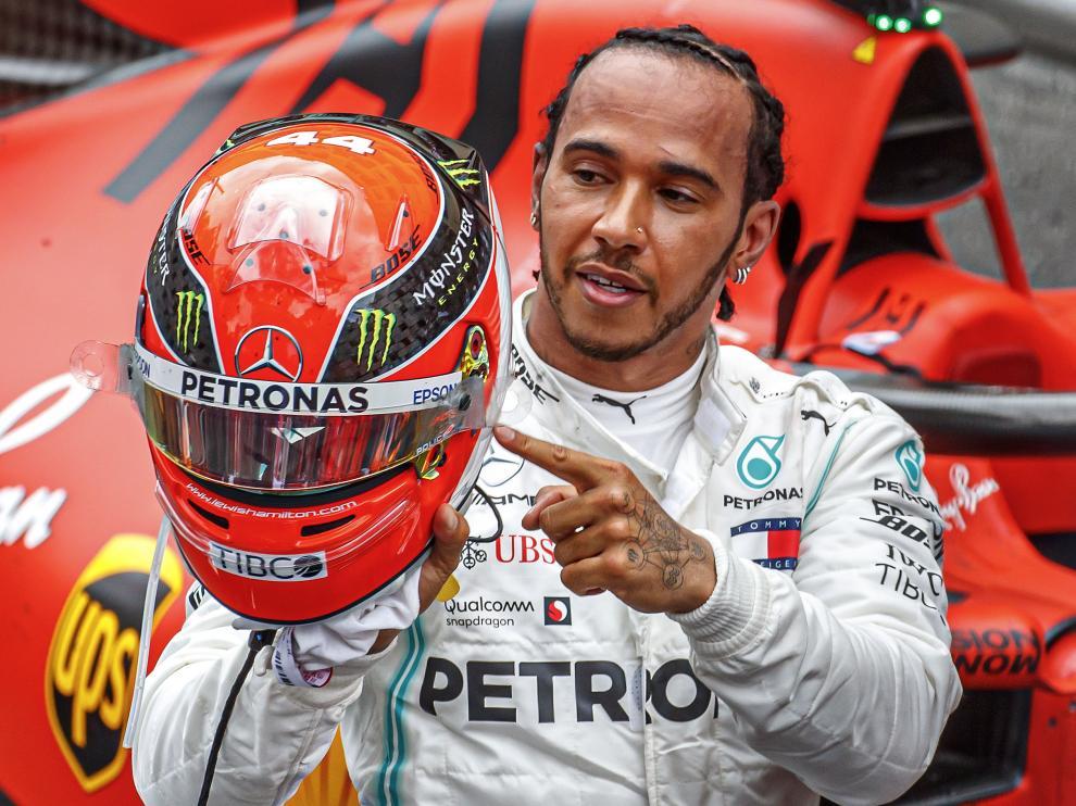 Hamilton gana en Mónaco.