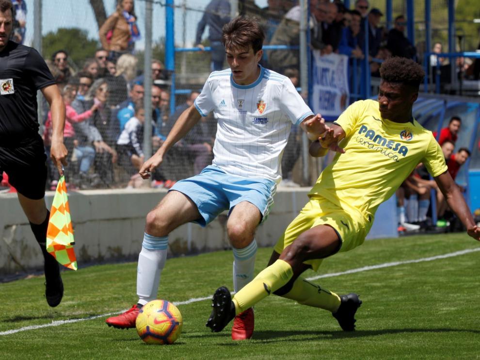 Fútbol. Copa del Rey juvenil- Real Zaragoza vs. Villarreal.