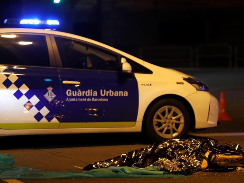Muere un ciclista de 22 años en un accidente en Barcelona.