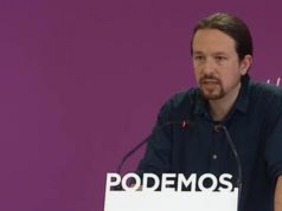 """El líder de Podemos asume los malos resultados """"sin paños calientes"""" y anuncia un Consejo Ciudadano Estatal para reaccionar."""