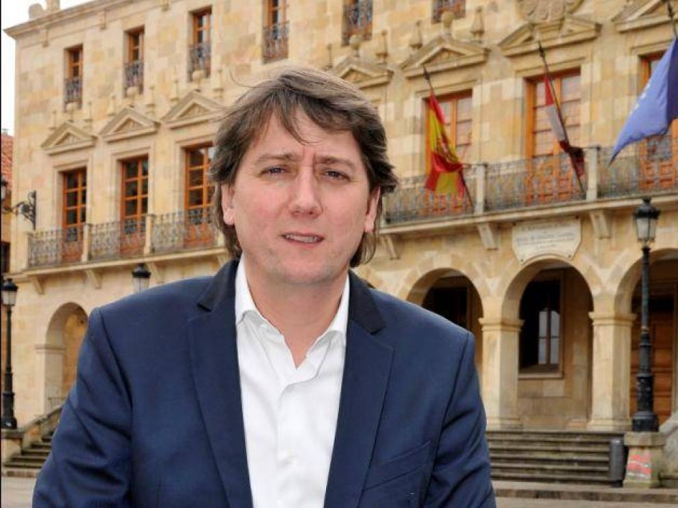 Carlos Martínez, candidato del PSOE en Soria.