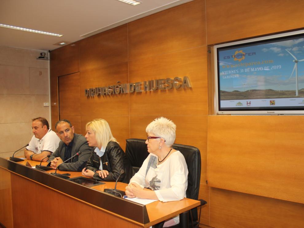 Imagen de la presentación del foro en la sala de prensa de la DPH.