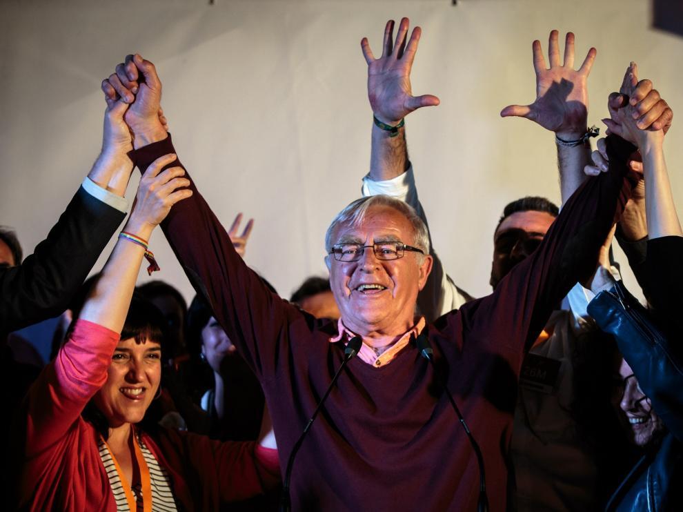 Joan Ribó, alcalde de Valencia, tras conocer los resultados.