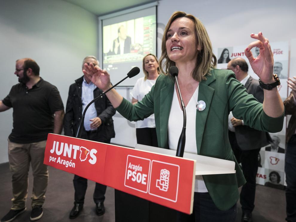 NOCHE ELECTORAL PSOE / 26/05/2019 / FOTO : OLIVER DUCH [[[FOTOGRAFOS]]]