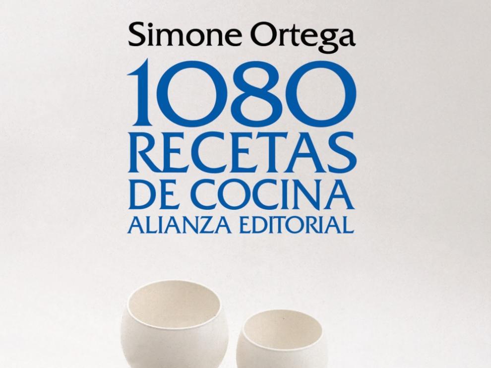 """Se cumple un siglo del nacimiento de Simone Ortega, autora del famoso libro """"1080 recetas de cocina"""""""