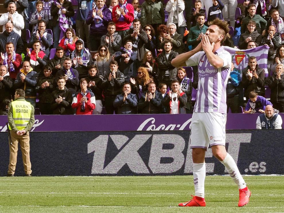 Borja Fernández, jugador del Valladolid.
