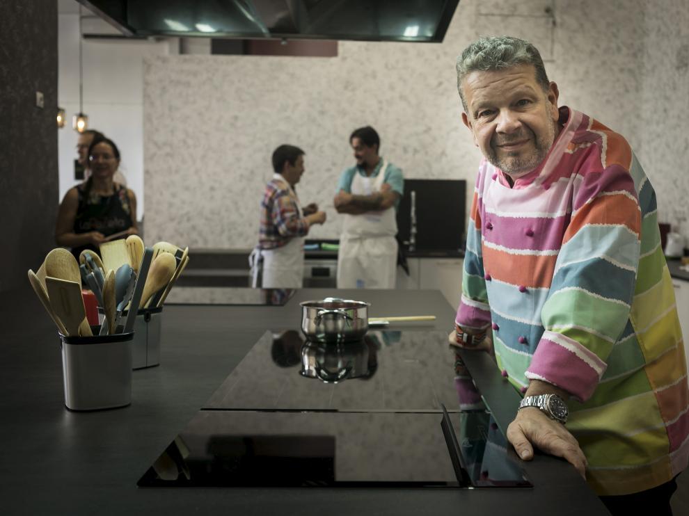El cocinero Alberto Chicote