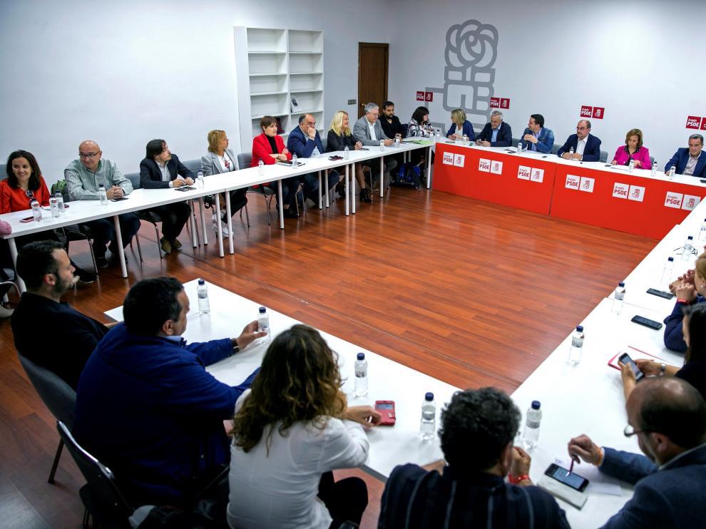 Comisión Ejecutiva Regional del PSOE Aragón