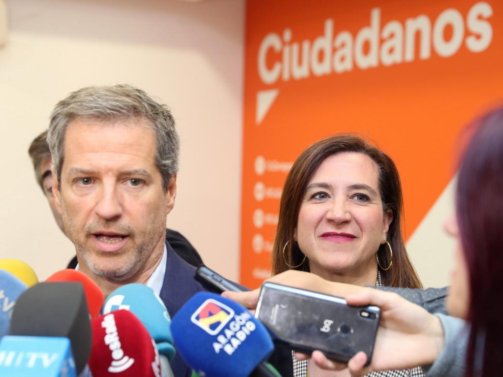 Daniel Pérez, candidato de Ciudadanos a la Presidencia del Gobierno de Aragón