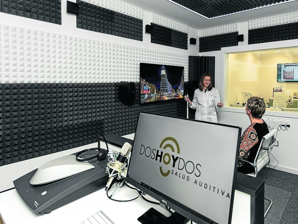 Doshoydos cuenta con dos centros auditivos en Zaragoza que integran medios de última tecnología. En concreto, en la calle de Francisco de Vitoria, 9 y en la avenida de Juan Pablo II, 42.