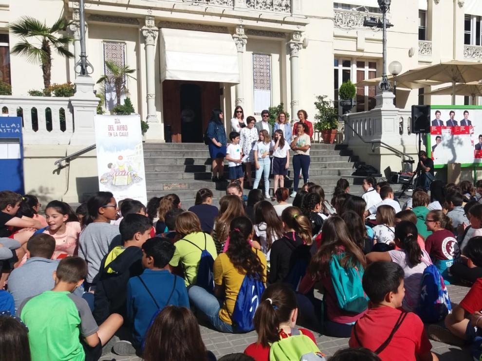 Las actividades se iniciaron en la plaza de Navarra a las 9.30.